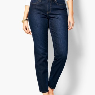 Talbots Slim Ankle Jean - Curvy Fit - Indy Wash