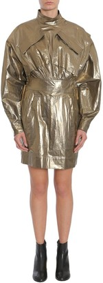 Kenzo Military Metallic Dress
