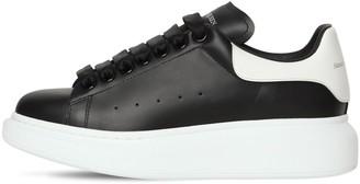 Alexander McQueen 45mm Bicolor Leather Sneakers