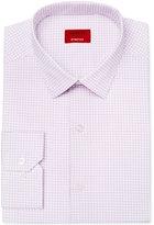 Alfani Men's Slim-Fit Stretch Purple Bubble Dress Shirt, Only at Macy's