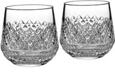 Monique Lhuillier Waterford Arianne Double Old Fashioned Glasses, Set of Two