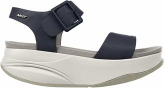 MBT Manni 2 W Womens Ankle-Strap Sandals Blue (Dark Navy Blue 1103N) 6.5 UK (40 EU)