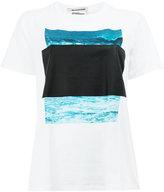 Anrealage Ar Marker List T-shirt - women - Cotton - 38