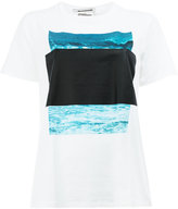 Anrealage Ar Marker List T-shirt - women - Cotton - 40