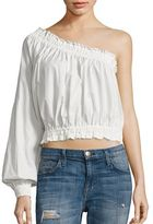 Free People Anabelle Cotton One-Shoulder Top