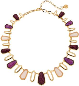 Dana Buchman Women's Stone Collar Necklace
