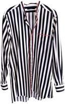 Gucci Navy Silk Shirts