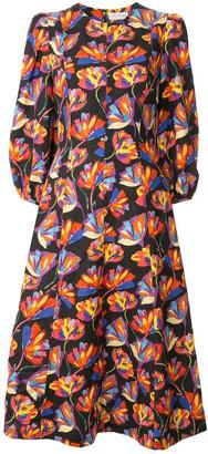 Rebecca Vallance Cintia flared day dress