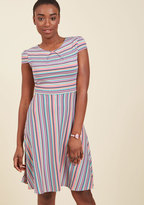 ModCloth The Jersey Is Out A-Line Dress in 8 (UK)