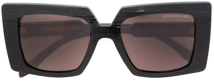 Cutler & Gross oversized square sunglasses