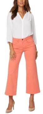 NYDJ Teresa Wide-Leg Ankle Jeans