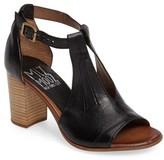 Miz Mooz Women's Savannah T-Strap Strap Sandal