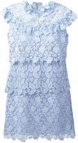 Giamba layered lace dress - women - Cotton/Viscose/Polyester - 44