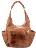 Diane von Furstenberg Woven Leather Satchel