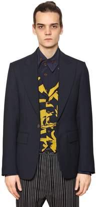 Vivienne Westwood Cool Wool Jacket With Printed Vest