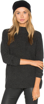 Three Dots Penny Mock Neck Sweater