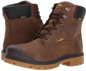 Keen Baltimore 6 WP Soft Toe (Brown) Men's Work Boots