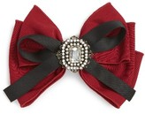 Cara Crystal Bow Barrette