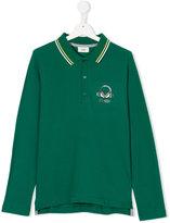 Fendi Teen long sleeve polo shirt