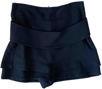 Givenchy Black Synthetic Shorts