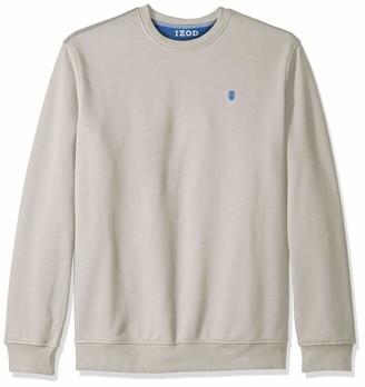 Izod Men's Big Advantage Performance Crewneck Fleece Sweatshirt