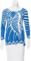 Emilio Pucci Printed Long Sleeve Top
