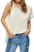 Free People One Shoulder Tee