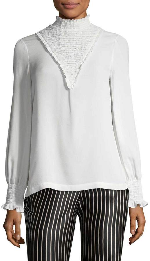Yigal Azrouel Women's Smocked Blouse