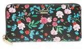 Kate Spade Women's Cameron Street Jardin Lacey Leather Wallet - Black