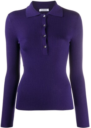 P.A.R.O.S.H. Buttoned Wool Knitted Top
