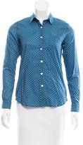 Steven Alan Polka Dot Button-Up Top
