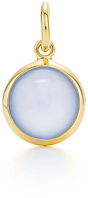 Tiffany & Co. Paloma Picasso®:Blue Chalcedony Dot Charm