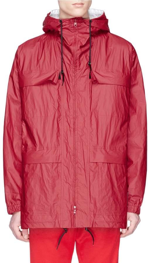 Y-3 Reversible hooded jacket
