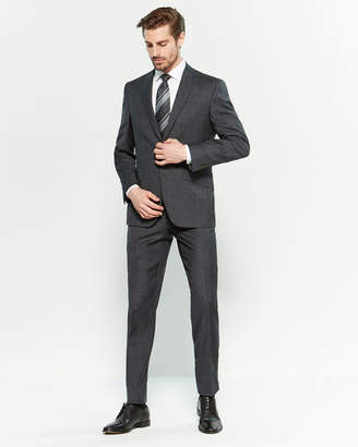 Ted Baker Two-Piece Grey Small Check Suit