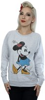 Disney Women's Classic Minnie Mouse Sweatshirt