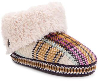 Muk Luks Melinda Womens Bootie Slippers