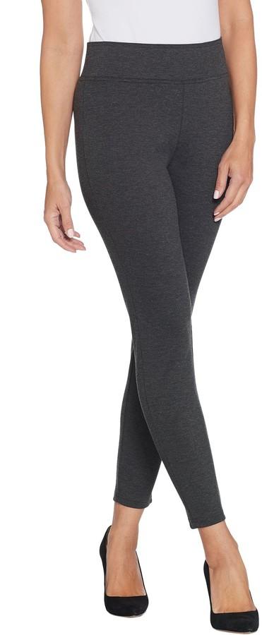 113c3c3e9d01f8 High Waisted Charcoal Pants - ShopStyle
