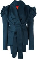 Vivienne Westwood structured asymmetric mid-length coat