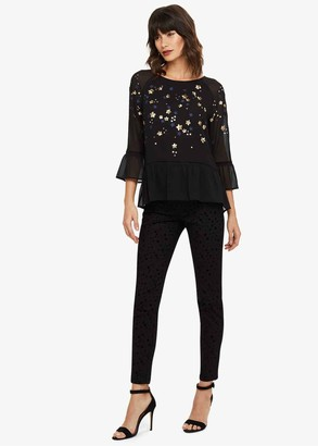 Phase Eight Aida Skinny Fit Star Jeans
