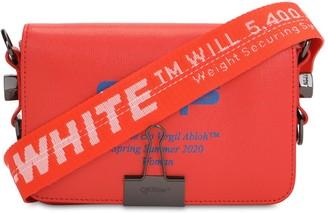 Off-White Mini Off Printed Leather Shoulder Bag