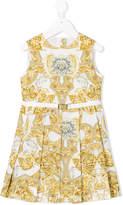 Versace baroque print sleeveless dress