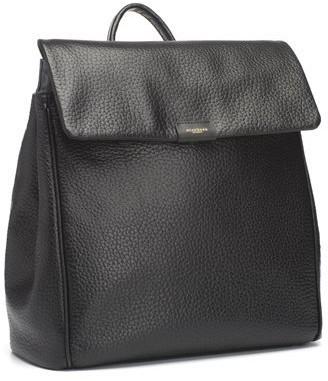 Storksak St. James Convertible Leather Backpack - Black