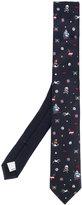 Valentino printed tie - men - Silk - One Size