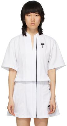 Palm Angels White Tennis Polo