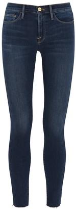 Frame Le Skinny De Jeanne dark blue jeans