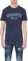 DSQUARED2 Samurai cotton-blend t-shirt