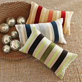 Winter-Stripe Pillow Cover