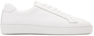 Tiger of Sweden White Salas Low-Top Sneakers