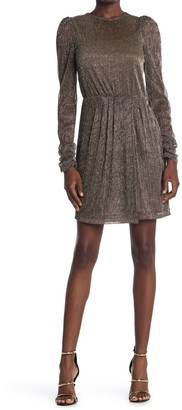 Bailey 44 Hayley Metallic Back Cutout Mini Dress