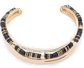 Alexis Bittar Liquid Gold Masai Single Collar Necklace with Custom Sequin Strands